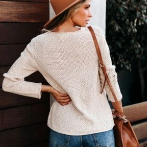 S. the Widow Sweaters - ALTER ROAD Cotton Blend Pullover Sweater